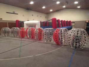 bubble balls, knocker balls, rental, jakes jumpers
