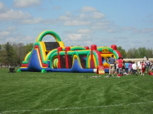 inflatable, obstacle course, bounce house, rental, green bay